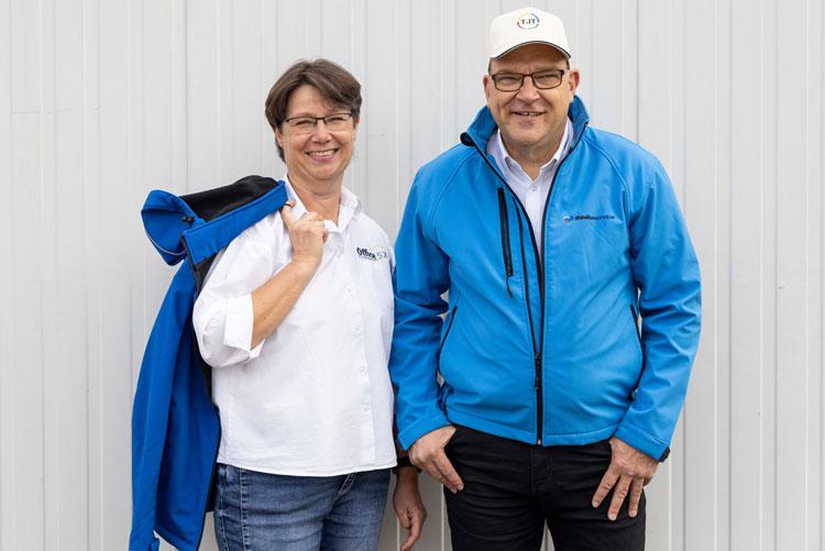 Die Inhaber, Frau und Herr Thielke