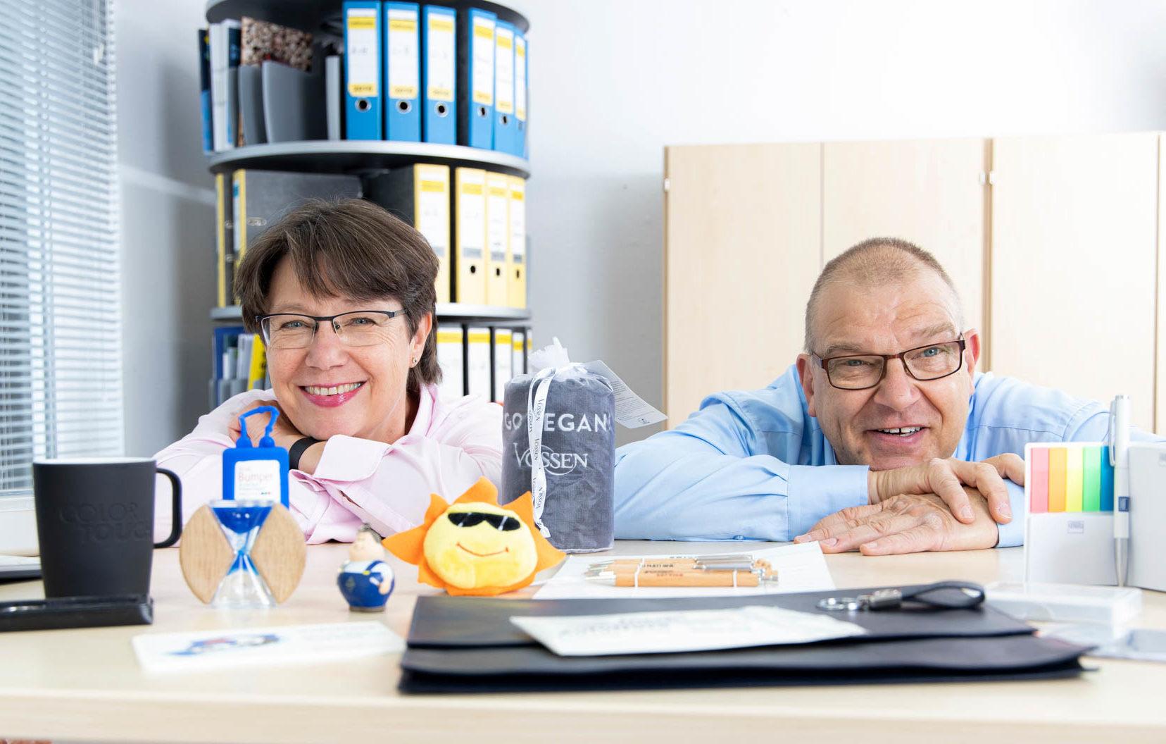 Die beiden Geschäftsführer von Thielke-Service sind auf dem Bild zu sehen und wirken sehr sympathisch.