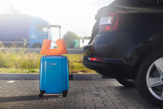 Taschen und Reisen