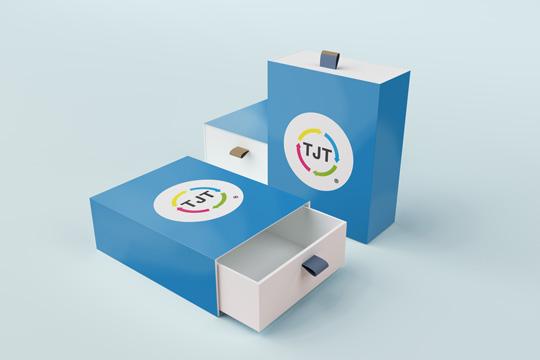 Personalisierte Verpackung mit Bedruckung